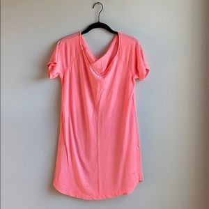 Pink Slouch Tee